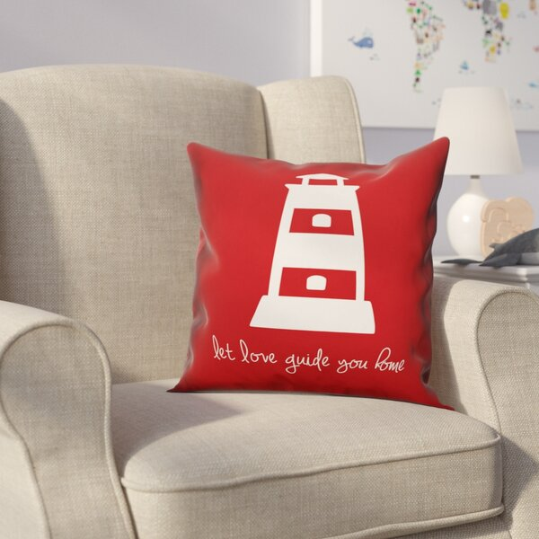 Kacie Love Guide Home Throw Pillow by Zoomie Kids