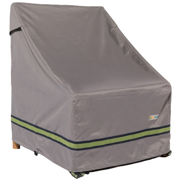 Soteria Water Resistant Stackable Patio Chair Cover by Duck Covers