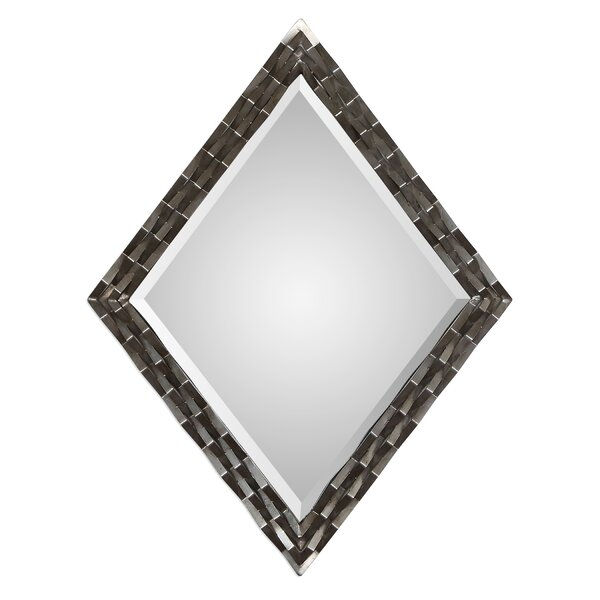 Cadencia Bevel Wall Mirror by Orren Ellis