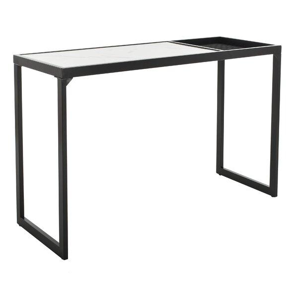 Orren Ellis Black Console Tables