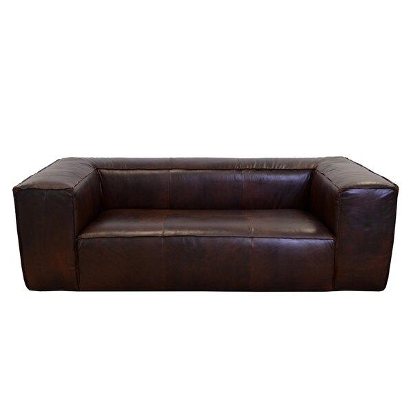 Lawton Leather Sofa by Westland and Birch