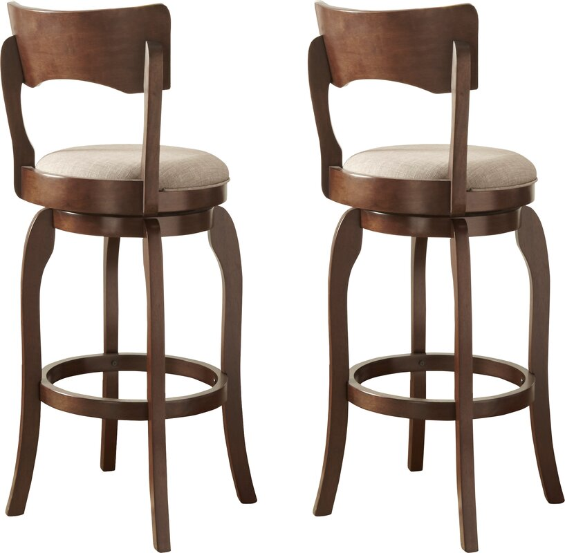 Wescott Swivel Bar Stool Amp Reviews Birch Lane