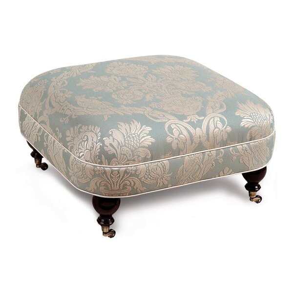 Carlyle Ottoman by Eastern Accents