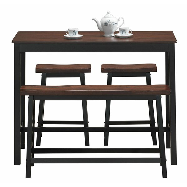 Castillo 4 Piece Breakfast Nook Dining Set by Millwood Pines