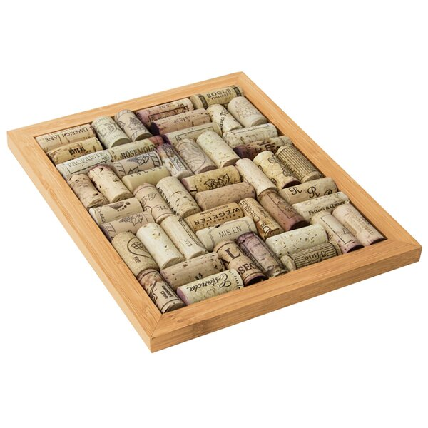 Cork Board Kit Bamboo Trivet by Red Barrel Studio