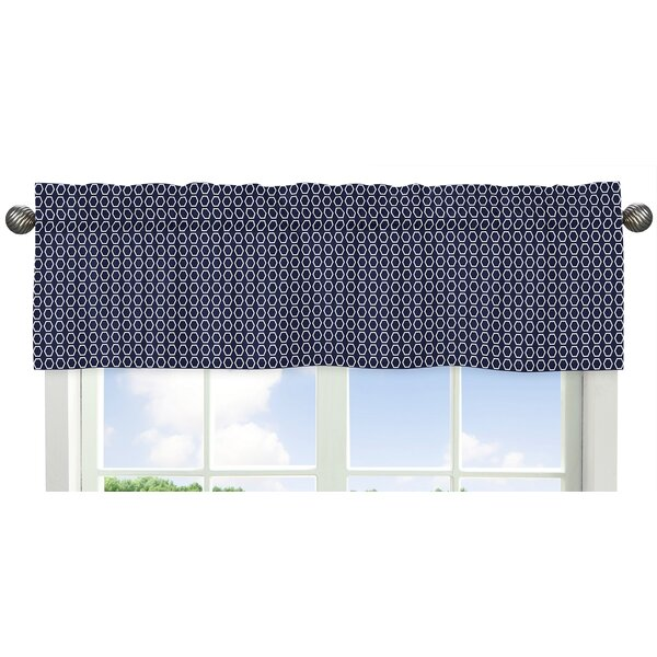 Arrow Hexagon Print Curtain Valance by Sweet Jojo Designs