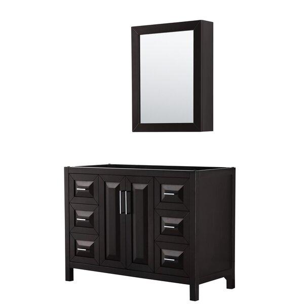 Daria 47 Single Bathroom Vanity Base Only with Medicine Cabinet