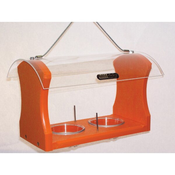 Recycled Jelly and Fruit Oriole Tray Bird Feeder by Birds Choice