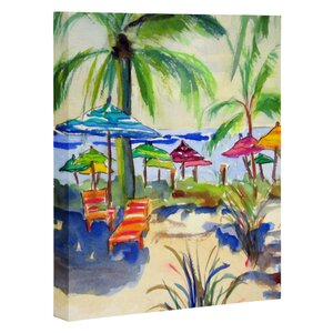 'Caribbean' Painting Print on Canvas by East Urban Home