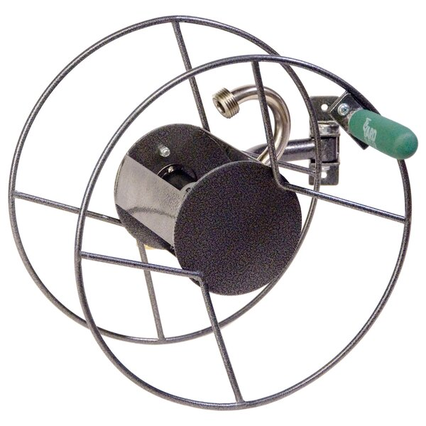 Steel Wall Mounted Hose Reel by Lewis Lifetime Tools