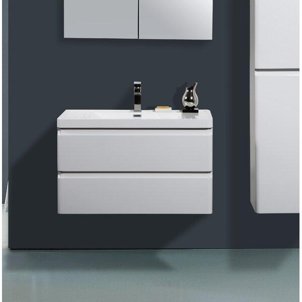 Mccarty 36 Wall-Mounted Single Bathroom Vanity by Orren Ellis