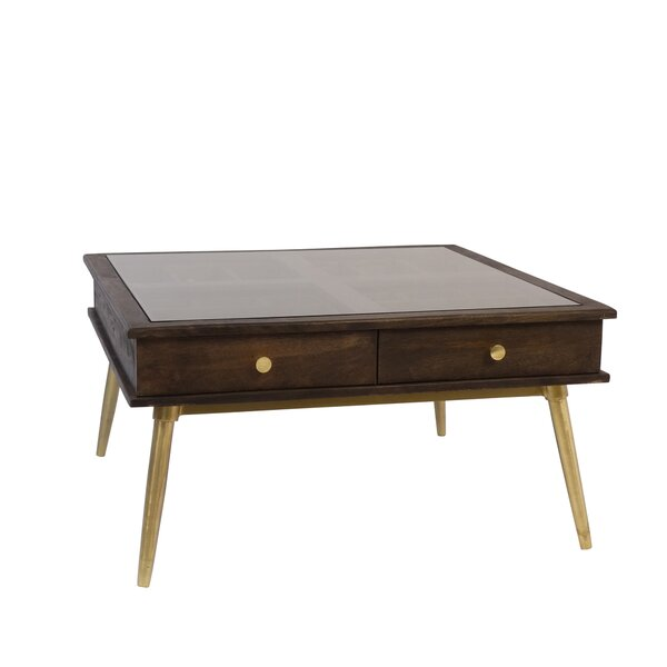 Lafe Coffee Table With Storage By Corrigan Studio