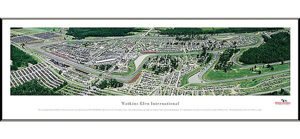 NASCAR Raceway Standard Framed Photographic Print by Blakeway Worldwide Panoramas, Inc