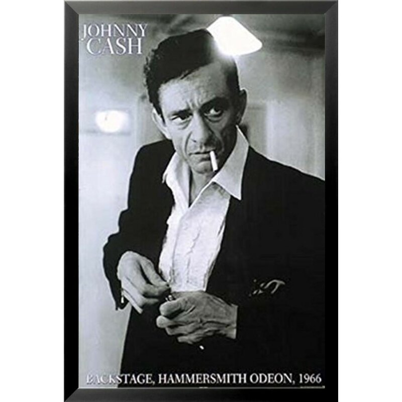 Buy Art For Less \'Johnny Cash Backstage, Hammersmith Odeon 1966 ...