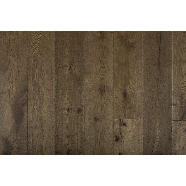Great Western 7-1/2 Engineered Oak Hardwood Flooring in Brown by GoHaus