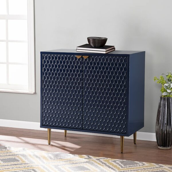 Vera 2 Door Accent Cabinet by Everly Quinn Everly Quinn
