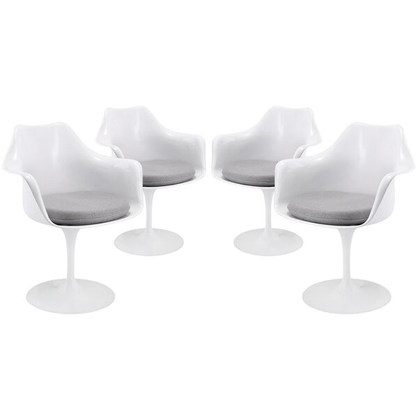 Julien Contemporary Dining Armchair (Set of 4) by Langley Street