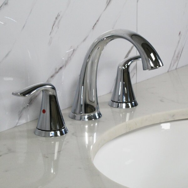 Spring Widespread Bathroom Faucet With Drain Assembly By Koozzo