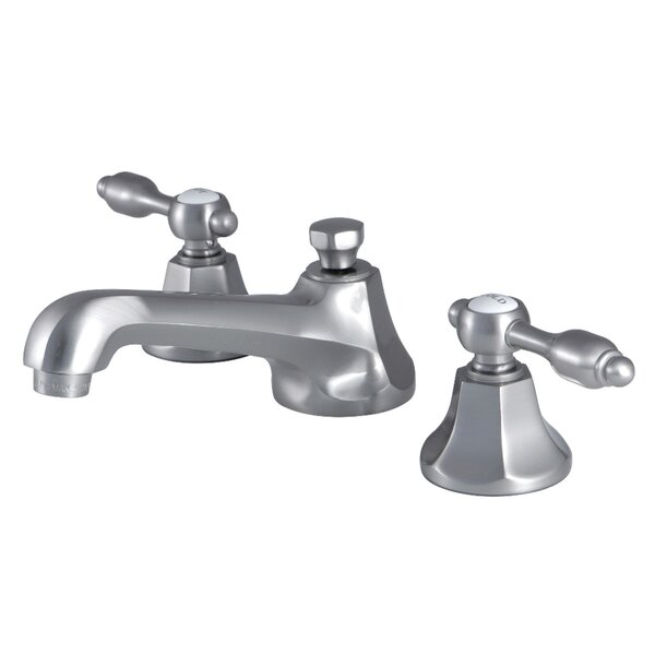 Tudor Widespread Bathroom Faucet With Drain Assembly By Kingston Brass
