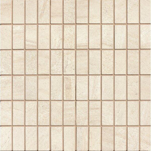 Purestone 1 x 2 Porcelain Mosaic Tile in Beige by Bedrosians