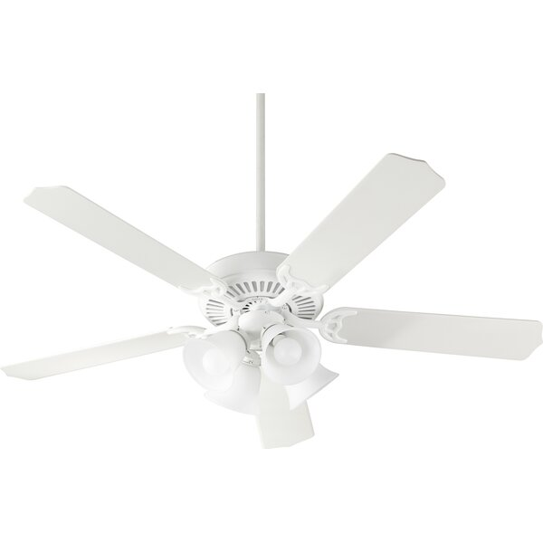 52 Penkridge 5 Blade LED Ceiling Fan by Charlton Home