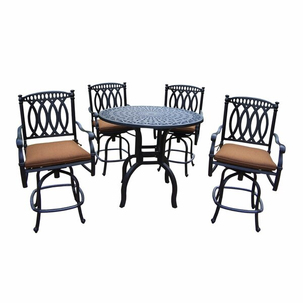 Otsego 5 Piece Bar Height Dining Set by Darby Home Co