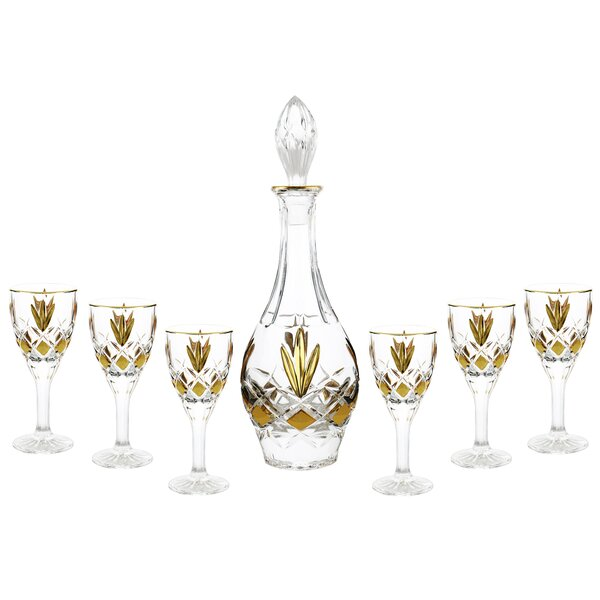 7-Piece Decanter Set by Three Star Im/Ex Inc.