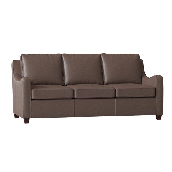 Dalton Leather Sofa by Bradington-Young