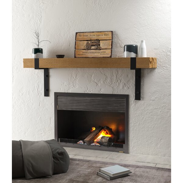 Bartholomew Fireplace Shelf Mantel by Foundry Select