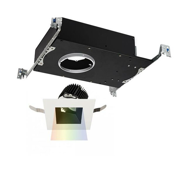 Aether Color Changing LED Adjustable 3.5 Square Recessed Trim by WAC Lighting