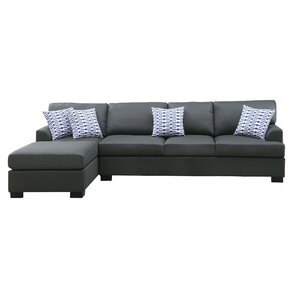 Bobkona Cayden Reversible Sectional