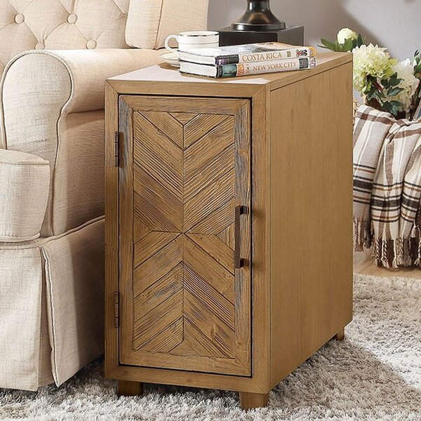 Amicia End Table with Storage by Union Rustic