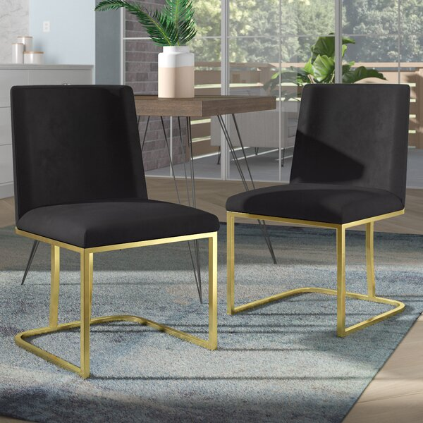 Leslie Seppich Upholstered Dining Chair (Set of 2) by Modern Rustic Interiors