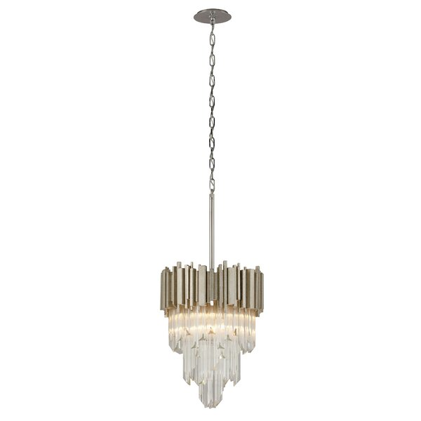 Mystique 4-Light Unique / Statement Tiered Chandelier By Corbett Lighting