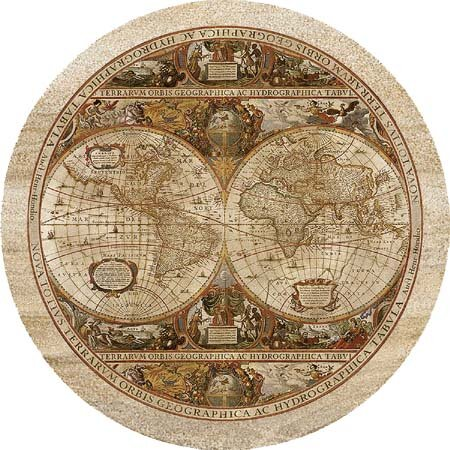 Old World Passages Coaster (Set of 4) by Thirstystone