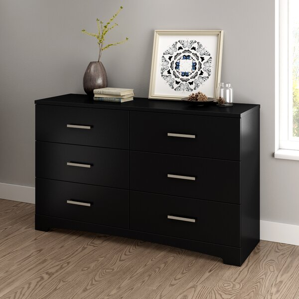 Gramercy 6 Drawer Double Dresser by South Shore