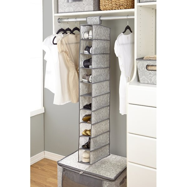 Almeida 10-Compartment Hanging Shoe Organizer by Laura Ashley Home