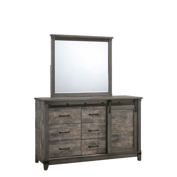 Forest Hill Tone 6 Drawer Combo Dresser by Gracie Oaks