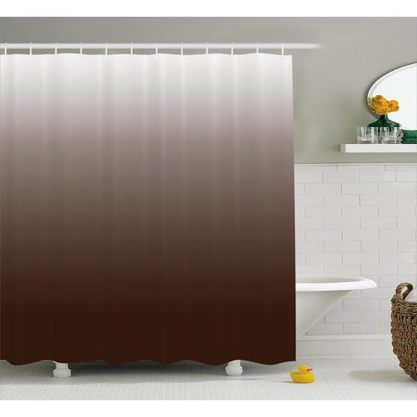 Inspired Digital Chocolate Decor Shower Curtain by Ebern Designs