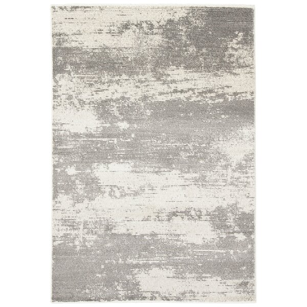 Brigette Charcoal Gray/Paloma Area Rug by Orren Ellis