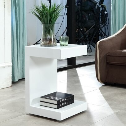 Lino End Table by Casabianca Furniture