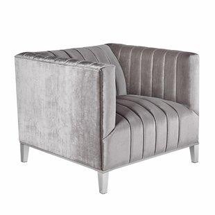 Anson Modern Club Chair by Everly Quinn