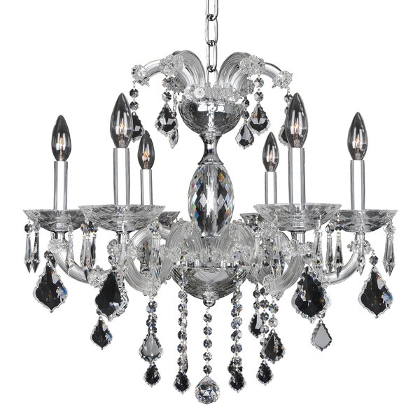 Giordano 6-Light Candle Style Classic / Traditional Chandelier By Allegri By Kalco Lighting