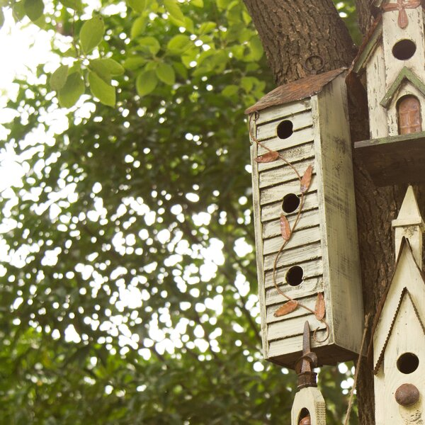18in x 5in x 4in Birdhouse by Glitzhome