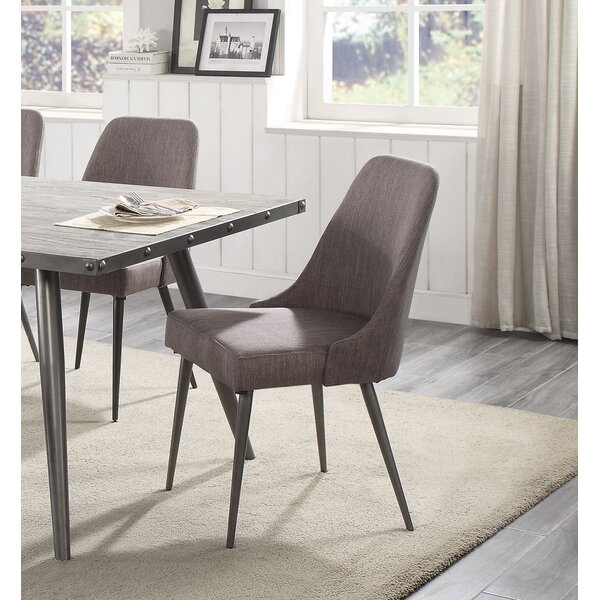 Sunray Upholstered Dining Chair (Set of 2) by Everly Quinn