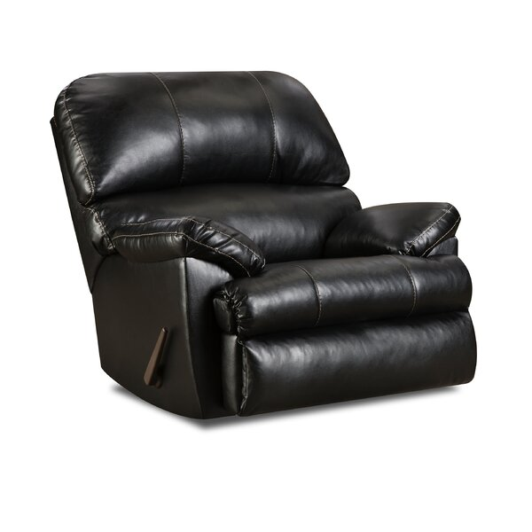 Dewitt Manual Rocker Recliner by Simmons Upholstery by Alcott Hill