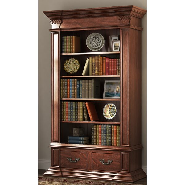 Deblois Pinewood Standard Bookcase by Astoria Grand