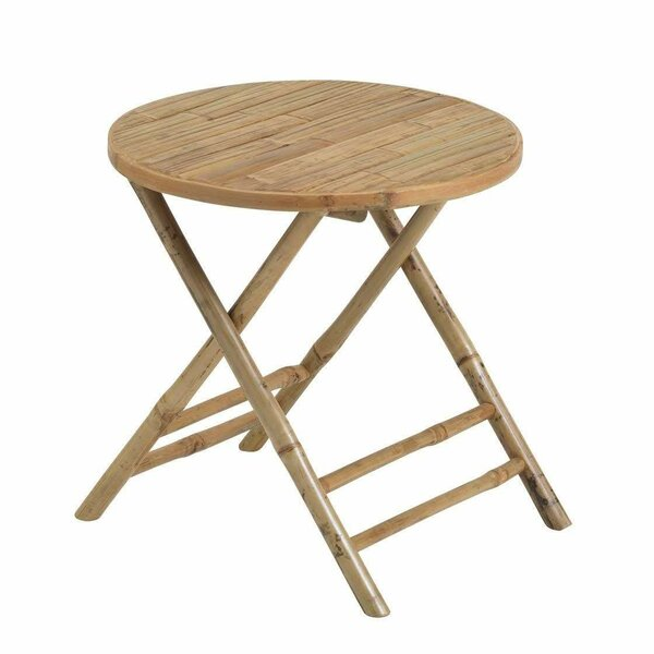 Dunsmuir Folding Bamboo Bistro Table by Bayou Breeze