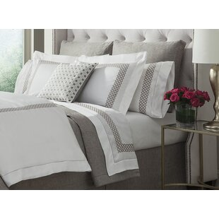 Shop Avalon Solid 300 Thread Count Cotton Fitted Sheet By Home Treasures Linens