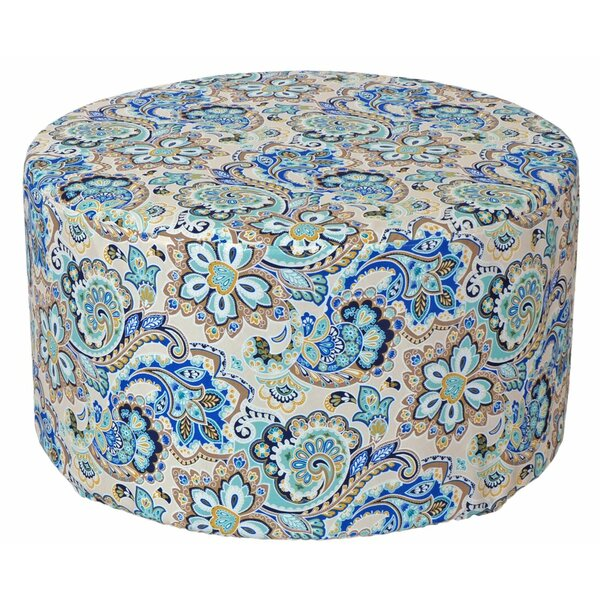 Armor Outdoor Pouf Ottoman by Brayden Studio